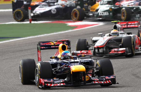 Sebastian Vettel Red Bull 2012 Bahrain Grand Prix