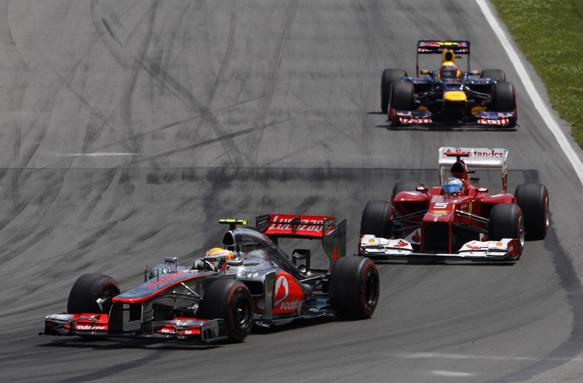 Lewis Hamilton McLaren Canadian Grand PRix 2012