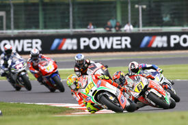 Rossi struggled again at Silverstone