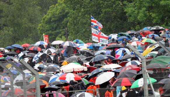 Silverstone Fans 2012 British GP