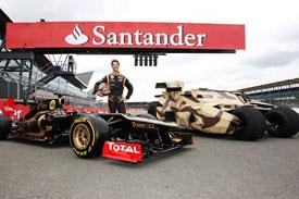 Silverstone Fans 2012 British GP Batman