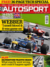 AUTOSPORT 12 July Cover
