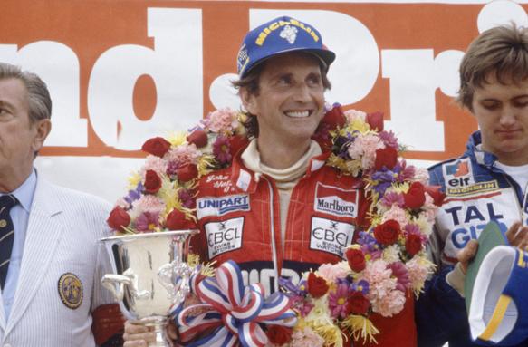 John Watson McLaren 1982 Detroit Grand Prix