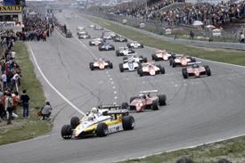 Rene Arnoux Renault 1982 Dutch Grand Prix