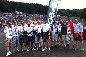 The amazing Ride2Spa crew