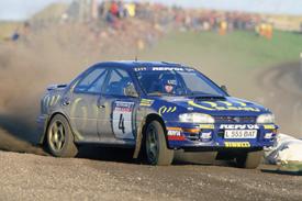 Colin McRae Subaru 1995 RAC Rally