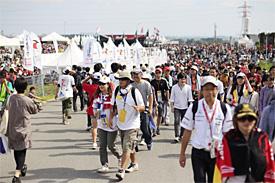 Japanese fans love F1