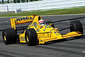 Satoru Nakajima in the Lotus 101
