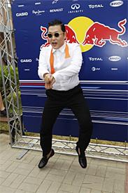 Korea's star Psy