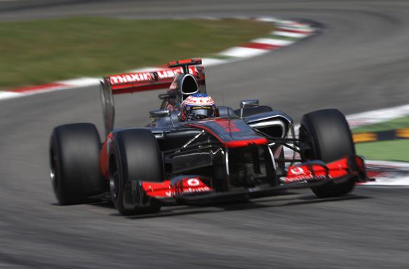 Jenson Button McLaren 2012 Italian GP