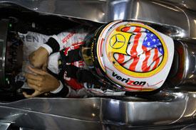 Lewis Hamilton Helmet Austin