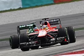Bianchi has kept the Caterhams behind so far