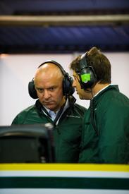 MIke Gascoyne Caterham Le Mans 2013