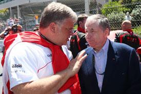 Jean Todt FIA F1 2014