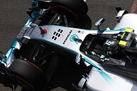 Nico Rosberg, British GP practice 2014