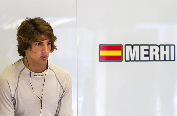 Roberto Merhi to race for Manor F1 team in Australian Grand Prix - F1 news - AUTOSPORT.com