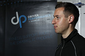 Camilleri works with AMR's drivers on behalf of Prodrive