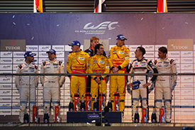 Rees has become a WEC race winner with Aston