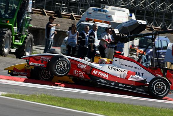 Jules Bianchi, ART, Monza GP2 2010