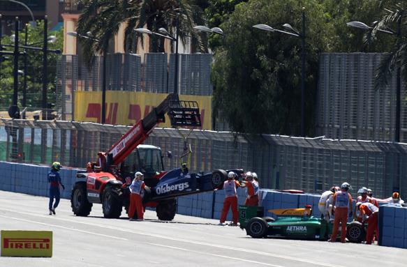 Bianchi, GP2, Valencia