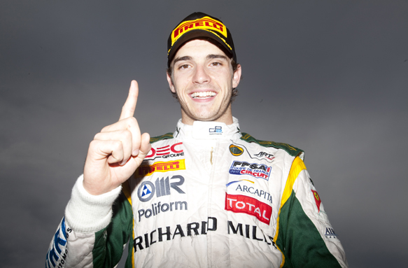 Bianchi, GP2, Silverstone