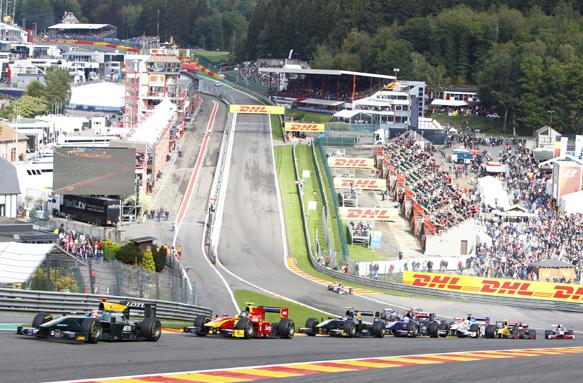 Bianchi, GP2, Spa