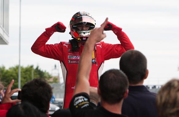 Bianchi, FR3.5, Nurburgring