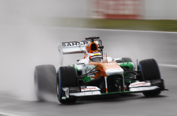 Bianchi, Force India, 2013