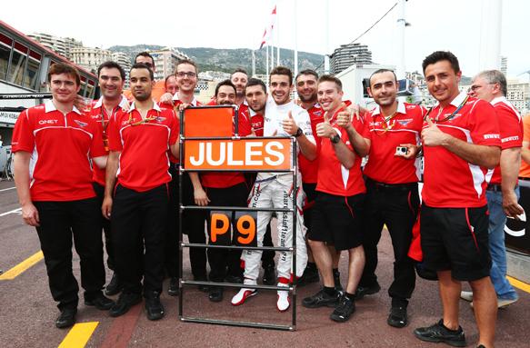Bianchi, Marussia, Monaco 2014