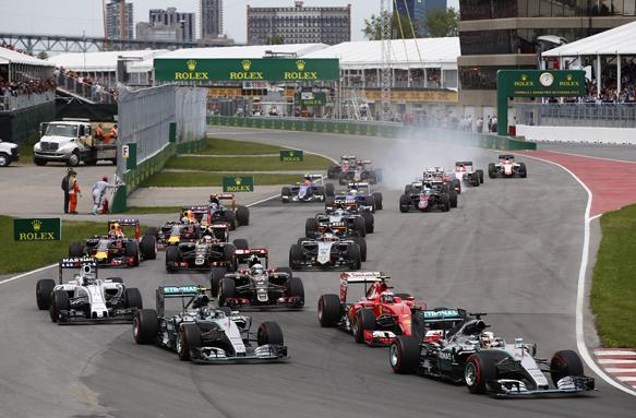 F1, Montreal, start
